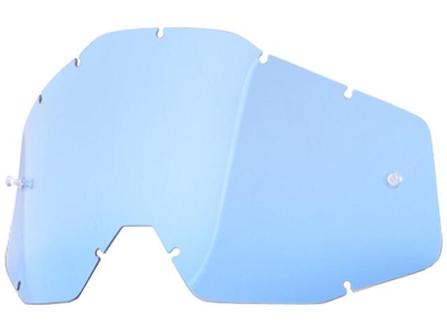 100% Replacement Verres de lunettes, blue-clear
